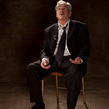 """Ghosts in Baghdad"" publicity photo (Alec Willows pictured). Photo by Tim Matheson."
